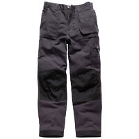 DICKIES EISENHOWER WORK TROUSERS GREY MULTI POCKET MENS EH26800