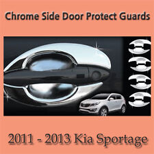 Chrome Side Door Protect Guards for 2011 - 2013 Kia Sportage
