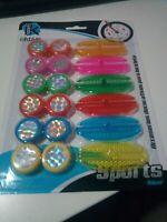 Elementos reflectantes de colores para bicicletas bici MTB en las ruedas