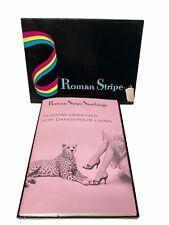 New listing Roman Stripe Stockings French 75 Seams Size 11 B 2 Pair in Box Nos Paradise