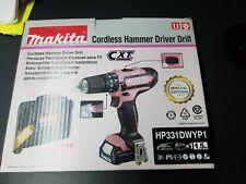 MAKITA HP331DWYP1 CORDLESS HAMMER DRIVER DRILL PINK SPECIAL EDITION