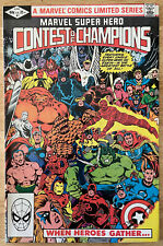 1982 - #1 Marvel Super Hero Contest of Champions Limited Series