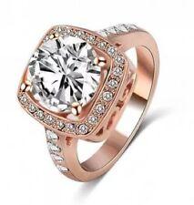 Rose Gold Simulant Ring  #DE