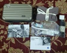 Rimowa Amenity Kit for LUFTHANSA Airline First Class - Olive Grey VERY RARE