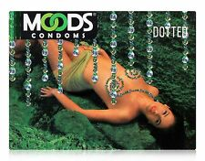 50 CONDOMS OF NEW MOODS DOTTED CONDOMS WITH MOULDED DOTS (MAKE THE FUN & GAMES)