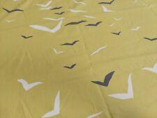 Scion Flight Lemon Gull & Chalk Curtain Craft Fabric 1.7 Metres 100% Cotton