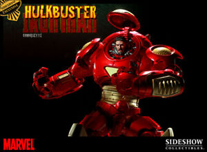 Sideshow Collectibles Marvel Hulkbuster Iron Man Comiquette Exclusive Comiquette