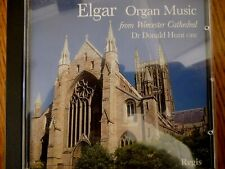 CD ALBUM - ELGAR [Organ Music from Worcester Cathedral] Dr Donald Hunt OBE