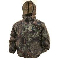 Frogg Toggs Pro Action Rain Jacket Mossy Oak Country Camo Size Small