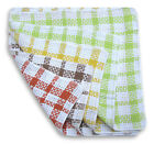 Super Waffle Dishcloths 100% Cotton Checked Dish Cloths Pack Of 12