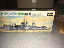 1/700 waterline ship kits Vintage Mutsuki Japan Navy Destoyer Hasegawa