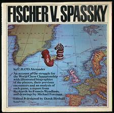 RARE livre book   échecs chess fischer spassky 1972 iceland