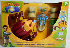 TREE FU TOM 2012 ARIELA AND TEABISQUIT RODEO PLAY SET EUROPEAN MISP NEW SEALED