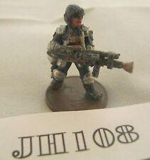 OOP Games Workshop IPC JD4 Riot Judge with Stum Gun 1985 Metal Ref JH108
