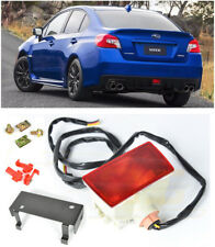 For 15-Up Subaru WRX STi CRYSTAL RED Rear Fog Light Brake Lamp Mounting Bracket