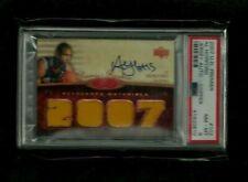 Al Horford 2007-08 UD PREMIER 4x Jersey ON-CARD Auto Rookie #15/99! 1/1? PSA 8!