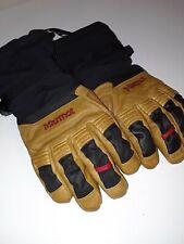 New listing Men's Marmot Exum Guide Ski Snowboard Gloves Black Tan Leather GoreTex Large  00006000 L