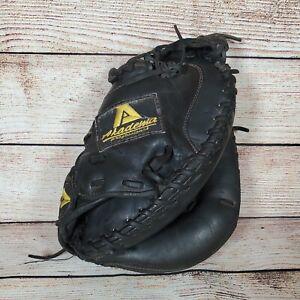 "Akadema AMM49 Catcher's Mitt Glove Professional Series 33"" Black Leather RHT"