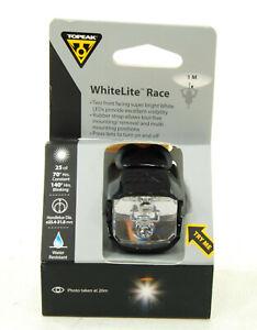 Topeak WhiteLite Race Bicycle Front Light Headlight