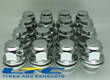 set of  16* 12x 1.25 12x1.25mm 21mm Flat Seated Hex Alloy Wheel Nuts