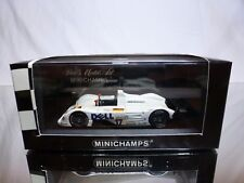 MINICHAMPS BMW V12 LMR 24h LE MANS 1999 - WHITE 1:43 - GOOD CONDITION IN BOX