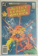 KUSTICE LEAGUE OF AMERICA #231 FAMILY CRISIS DAD OUT OF CONTROL