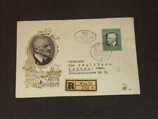 FDC Ersttag 3.9.1949: 125. Geburtstag Anton Bruckner RECO