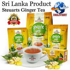 Ceylon Ginger Tea-Instant Natural Spicy Organic Ginger Tea– Best For Cold & Flu