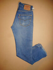 Rare Levis 501 Made in USA 1980's Vintage Mens Blue Denim Jeans  W28 L31  -E18