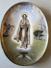 Vintage Retro Kitsch Religious Wall Plate By Bradford Exchange Other Certif