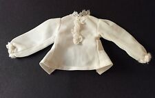 Sindy vintage doll clothes 1976 McSindy 44283 Whte Nylon Blouse with ruffle