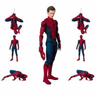 6 inch Spider-Man Homecoming Spiderman Action Figure Mafex Kids Toy Gift New AU