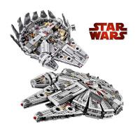 LEGO Star Wars Millennium Falcon 79211 Building Blocks Complete 1381 Pcs