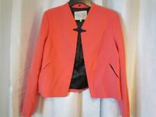 NWT Rachel Roy Salmon Pink Button Less Blazer Lined Sz 14 Org $139