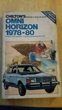 chilton 6845 1978-80+ Dodge Omni &O24/Plymouth Horizon & TC3