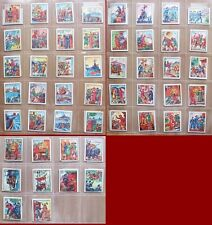 FIGURINE NANNINA - SERIE SANDOKAN Lotto di 50 figurine da 51 a 100 - OTTIME!