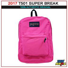 2018 JANSPORT T501 Superbreak BACKPACK Student School Bag 100% AUTHENTIC