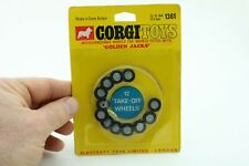 Corgi Toys No 1361 Wheels for 'Golden Jacks' - Made In Great Britain - Carded