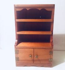 Pine Wood Apprentice Piece Miniature Cupboard Cabinet