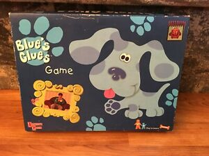 Blues Clues Board Game Missing Notebook Nickelodeon University Games 1998