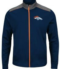 "j NFL Denver Broncos Majestic NFL ""Team Tech""  Full Zip Jacket   MEDIUM"