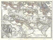 Vintage World Map Decorative Posters & Prints