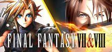 Final Fantasy VII & VIII (7 & 8) Double Pack Region Free PC KEY (Steam)