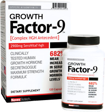 Novex Growth Factor 9 - 120 capsules  Free Shipping
