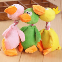 Funny Pet Cat Dog Puppy Chew Squeaker Squeaky Plush Sound Bird Chew Play Toy_1pc
