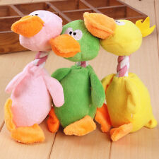Funny Pet Cat Dog Puppy Chew Squeaker Squeaky Plush Sound Bird Chew Play Toy 1pc