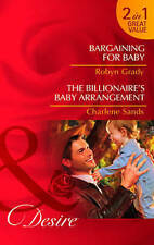 MILLS & BOON DESIRE 2 IN 1 _  BARGAINING FOR BABY  _ SHOP SOILED  _ UK FREEPOST
