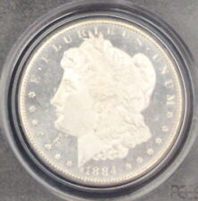 1884 CC MS 65 DMPL PCGS Gem Deep Mirror Proof Like Morgan Silver Dollar