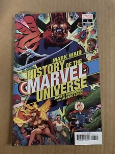 HISTORY OF THE MARVEL UNIVERSE #1 VARINT COVER FIRST PRINT MARVEL COMICS (2019)