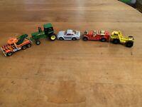 Vtg Hot Wheels Matchbox John Deere Cars Lot Of 5 1980s